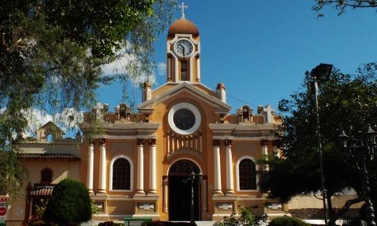 Vilcabamba főtere