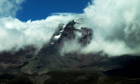 A Chimborazo ritkán mutatja meg gleccsereit, mi szerencsések voltunk