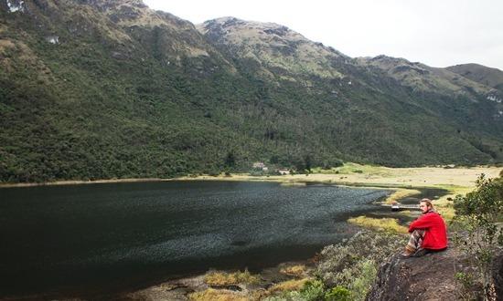 A Laguna Lluvioco barátságosabb környezetben fekszik