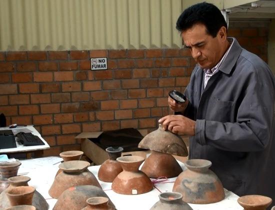 José Maldonado munka közben