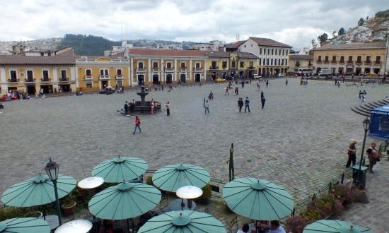 A Plaza San Francisco Quito legszebb tere