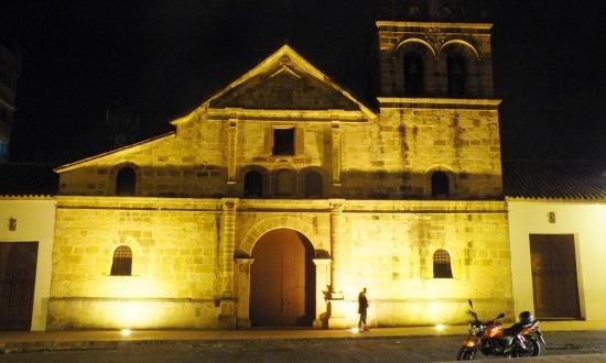 A Pamplona főterén álló templom