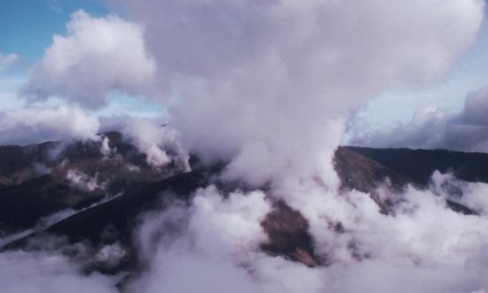 Felhők felett utazunk Méridába