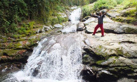 Las Pailas-vízesés nem túl látványos, de miért is ne?