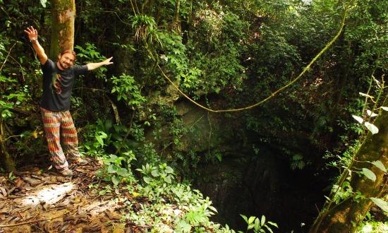A Haitón de Guarataro egészen elképesztő természeti jelenség