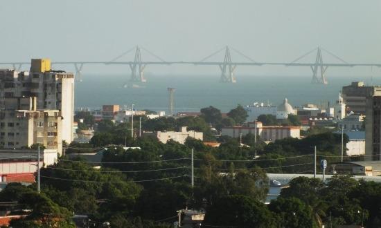 Maracaibo büszkesége, a 8600 méter hosszú General Rafael Urdaneta Bridge