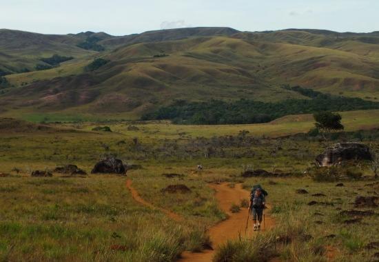 Túra a végtelen Gran Sabanán keresztül a Roraima lábához