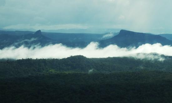 A Gran Sabana felülről