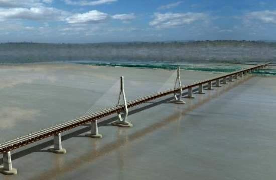 A Caicara-Cabruta híd tervei