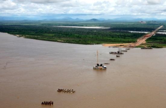 A Caicara-Cabruta híd valójában így néz ki