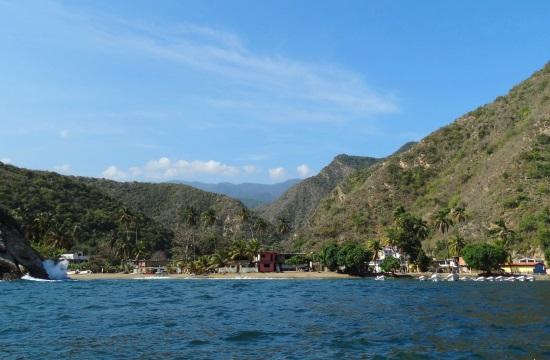 A Henri Pittier Nemzeti Park tele van kizárólag csónakkal elérhető falvakkal