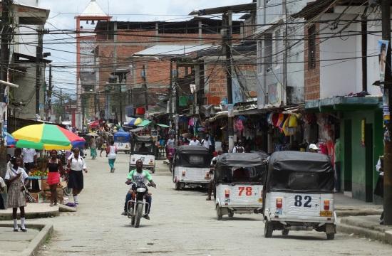 Utcakép Guapíból