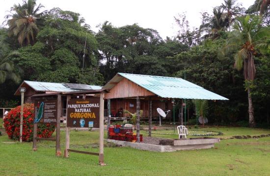 A nemzeti park bejárata