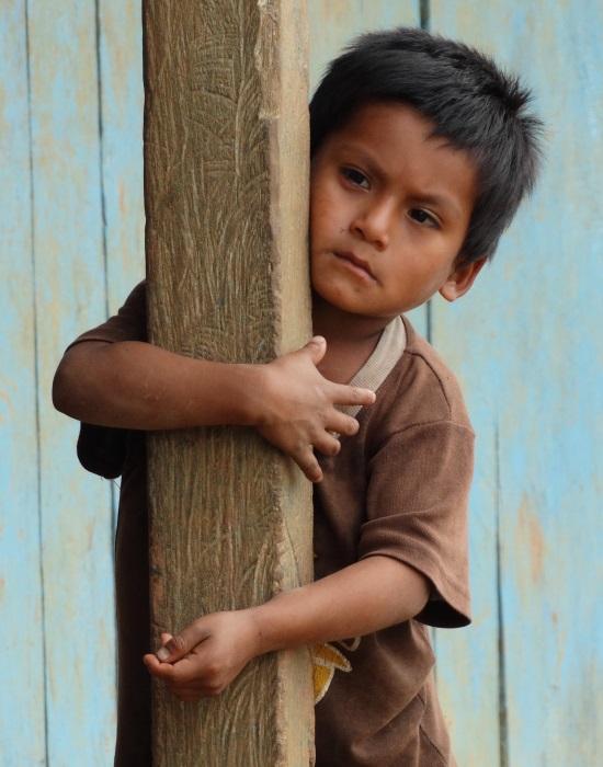 Gyerekportré Coangosból