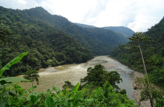 Ahol a Rio Santiago és a Rio Coangos találkozik