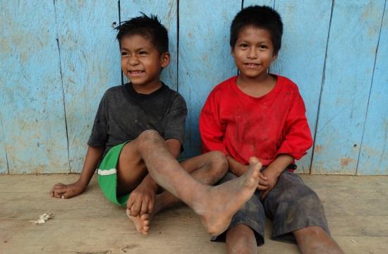 A gyerekek még jópofák Coangosban