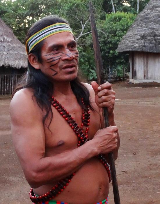 Warush nagybátyja volt az utolsó sámán a faluban