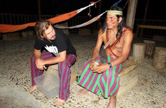 Warush vezetésével próbáljuk ki az ayahuascát