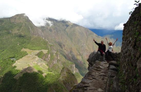 Machu Picchut, mint minden inka romot, valamilyen állat formájára építették. A felfelé néző indián orráról tisztán látszik a kondor két szárnya, de hogy alatta mi van, azt csak a régészek tudják
