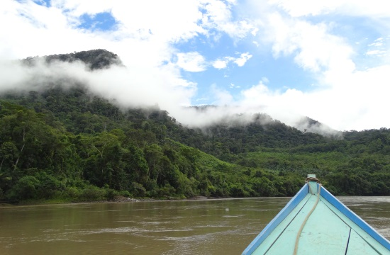 A Rio Urubmaba korán reggel