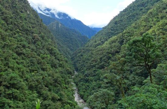 Mintha a Machu Picchu környékén mászkálnék