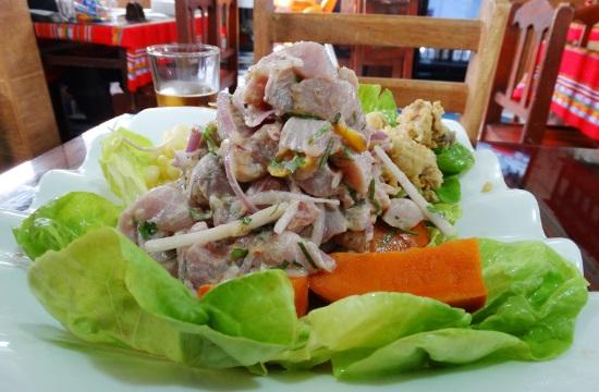 A legzseniálisabb cevichét El Callao  névtelen éttermeiben lehet enni