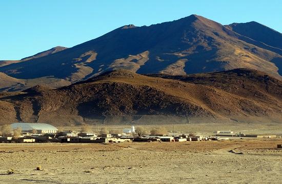 Atulcha faluja a reggeli napfényben