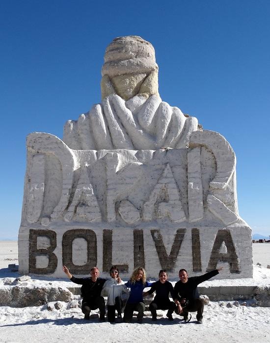 A 2014-es Dakar is érintette a Salart, gyorsan faragtak neki egy emlékművet