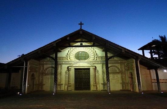 San Javier temploma is a Világörökség része