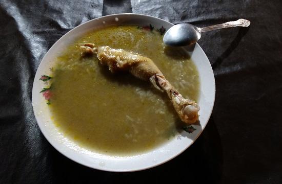 A bolíviai konyha egyik remeke: locro