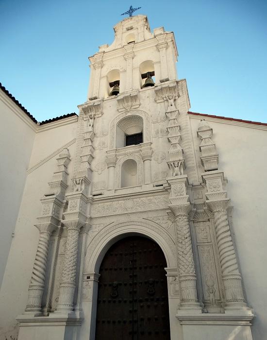 Egyike azoknak a templomoknak, amik miatt Sucre óvárosa a Világörökség része lett