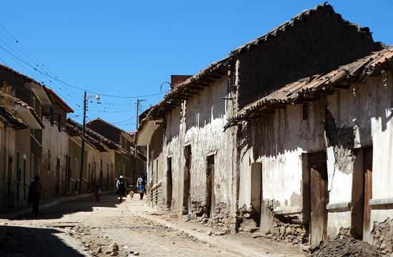 Hétköznap Tarabuco egy romos falu