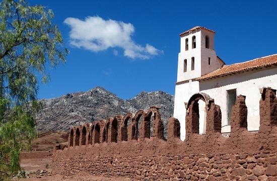 Quila Quila temploma állítólag Sucre alapítása előtt épült