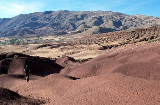 Mateo a vörös sivatagban