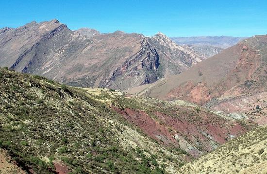 Érkezés a Frailes-hegységhez