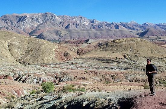 A Frailes-hegység ezer színben pompázik