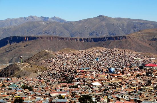 Potosí 4100 méter magasan fekszik