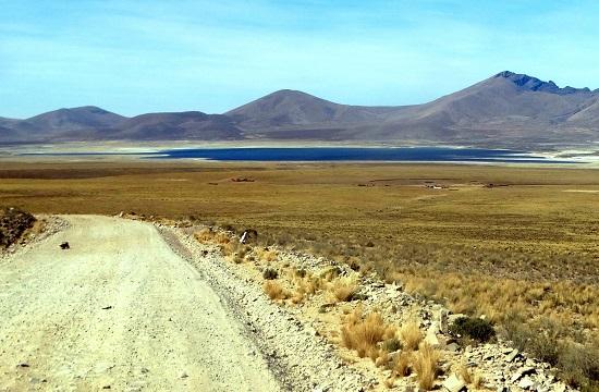 A Sama Nemzeti Park egyik lagúnája