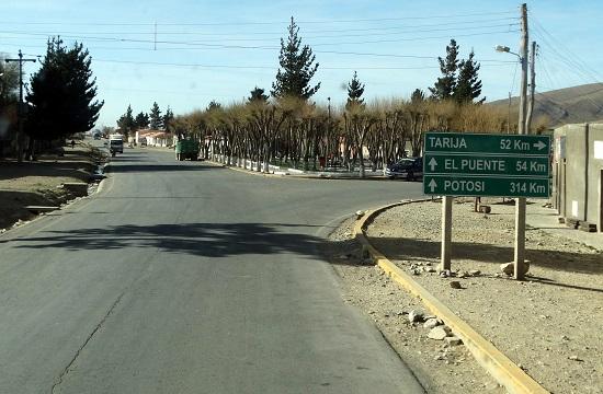 Iscayachi az egyetlen kisváros Tupiza és Tarija között