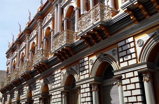 Tarija legszebb épülete a Casa Dorada