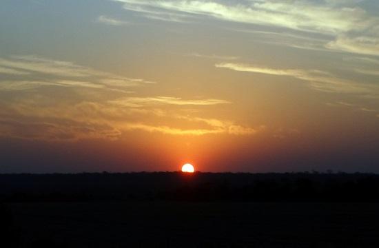 Naplemente a Gran Chaco felett