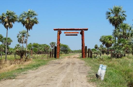Ennyi a nemzeti park bejárata