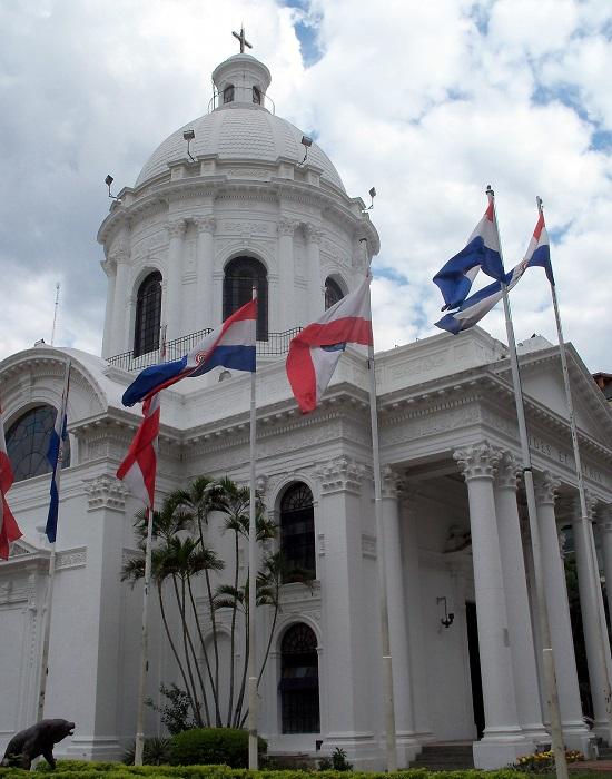 Paraguay nemzeti büszkesége, a Panteón