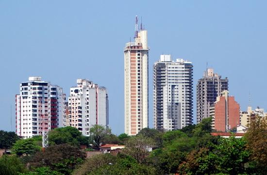 A Torre Icono Paraguay legmagasabb épülete