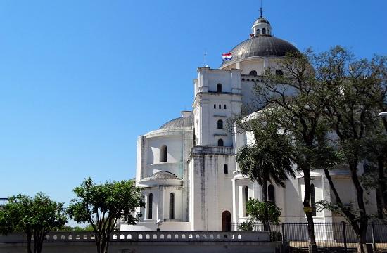 A bazilika hátulról