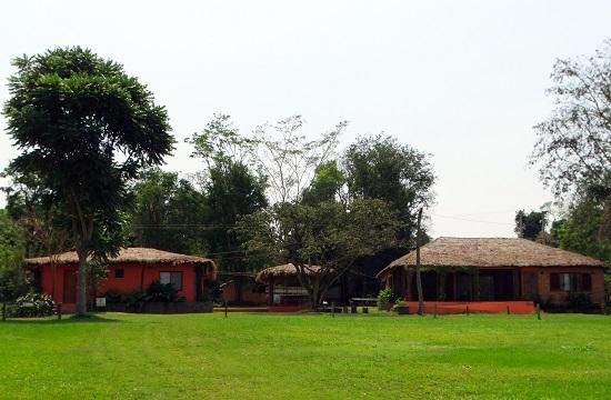 A Mbaracayú Nemzeti Parkban ilyen házakban lehet megaludni