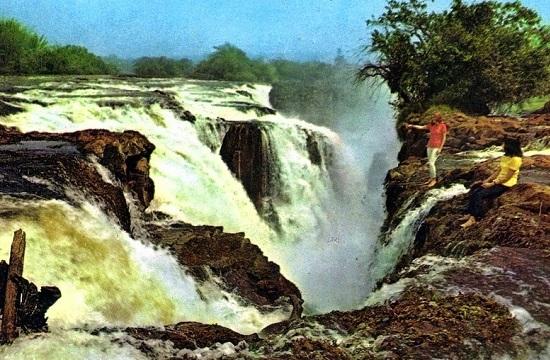 A már nem létező Guaira-vízesés