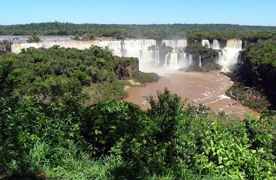Az Iguazú-vízesés, ahogy mindenki ismeri