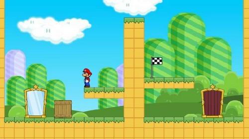 Mario tükörországban