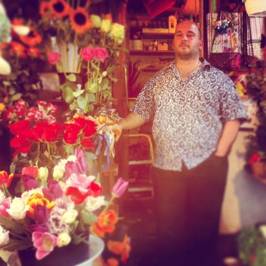 virágárus Oktogon